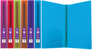 Bazic 1 Glitter Poly 3 ring Binder With Pocket Case Pack 48