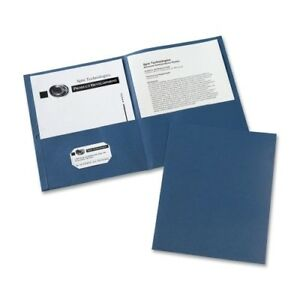 Avery Consumer Products Two Pocket Folder 8 1 2 x11 20 Sht Cap 25 bx Dar