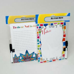 Magnetic Dry Erase Board With Marker Case Pack 24