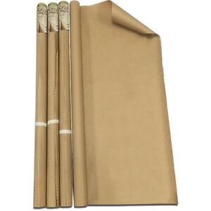 Bazic 30 Inch X 14 Ft All purpose Natural Kraft Wrap Paper Roll Pack Of 36