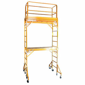 Pro series Towerint Two Story Rolling Scaffold Tower