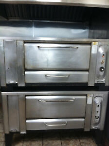 Blodgett 1000 Double Stack Stone Deck Pizza Oven