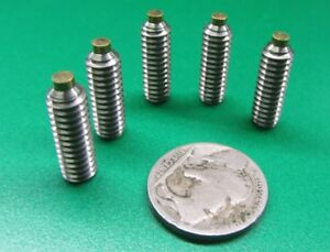 Stainless Steel Brass Tip Set Screw 2 56 4 40 6 32 8 32 To 3 8 16 M3 To M8