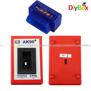 Elm327 Bluetooth Diagnostic Scanner Tool 2017 Obd2 Ak90 Programmer For Car Bmw