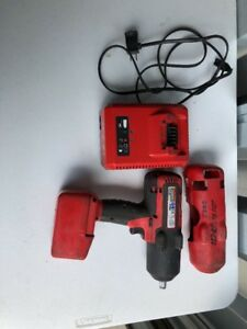 Snap on Ct7850 1 2 18v Cordless Impact Wrench Bundle 1 Battery And Charger Used