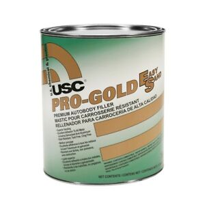 Usc 16400 Pro gold Es Premium Auto Body Filler gallon