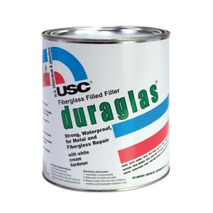 Usc 24030 Duraglas Fiberglass Filled reinforced Auto Body Filler gallon