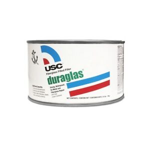 Usc 24035 Duraglas Fiberglass Filled Reinforced Auto Body Filler Quart
