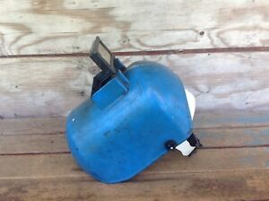 Vintage Century Mfg Co Blue Welding Helmet Usa