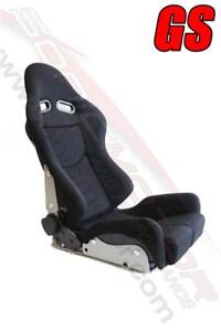 Snc Gs Reclinable Bucket Racing Seat Black large