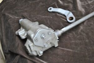 65 66 Mustang Steering Gear Original Ford Smooth And Tight With Pittman Arm