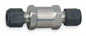 3 8 Instrumentation Check Valve 316 Stainless Steel Cpi Connection Type
