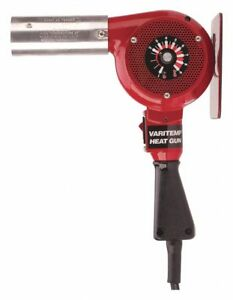 Electric Heat Gun 120vac Variable Temp Settings Ambient To 1000 f