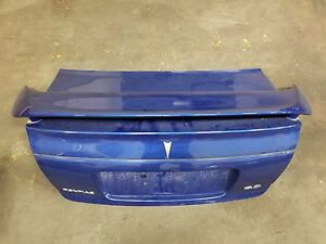 2004 2006 Pontiac Gto Oem Trunk Deck Lid Spoiler Panel Blue 6 0