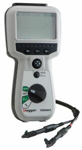 Megger 5000 Time Domain Reflectometer Backlight Lcd Display 1 Accuracy