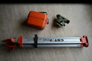 Wild Heerbrugg N2 N21 Nk21 Surveyor Construction Level With Tripod Free Shipping