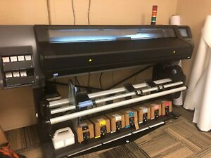 Hp 570 Latex 64 Wide Format Printer 6 Month Old