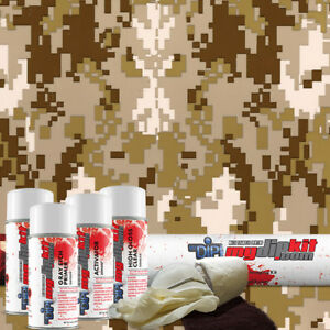 Hydrographic Film Hydro Dipping Water Transfer Printing Dip Kit Tan Camo Mc821