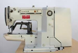 Singer 569u1141 28h Label Tacker 3 8 X 1 4 Industrial Sewing Machine 220v 1ph