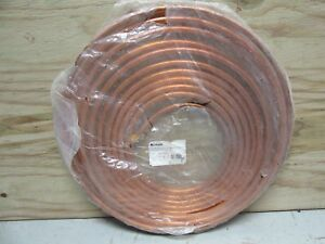 New Copper Tubing 5 8 Od X 50 Refrigeration Hvac Tube Coil Seamles Ductless