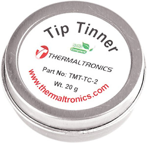 Thermaltronics Tmt tc 2 Lead Free Tip Tinner 20g In 0 8oz Container Other Solder