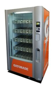 Vendo Vue 40 With Gatorade Graphics Vending Machine Free Shipping