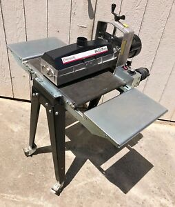 Performax 16 32 Plus Drum Sander 115 v 1 ph W In outfeed Tables Wheels Manual