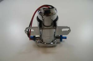 High Performance Electric Fuel Pump 100gph 3 8 Npt Ports Red Fittings