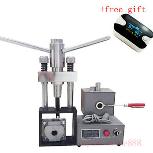 400w Electric Dental Lab Denture Injection Injects Machine W Heater Hot Press