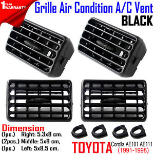 For Toyota Corolla Ae100 101 Ae111 1991 98 Heater Air Grille Interior Lh Rh Md