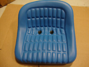 2000 2600 2610 3000 3600 3610 4000 5000 6600 Ford Tractor Seat Blue Vinyl