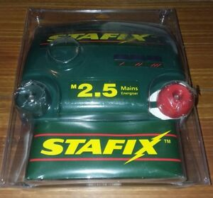 Stafix M2 5 Electric Fence Energiser Up To 25 Miles Of Fencing New Old Stock