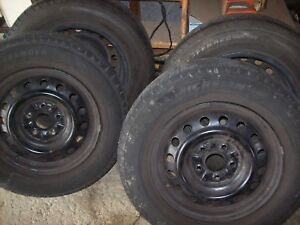 P205 65 R15 Tires With Wheels Rims 4