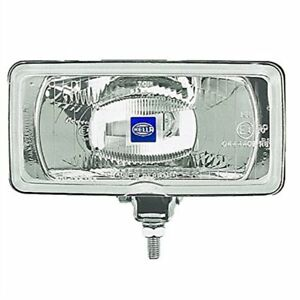 Hella 005700471 550 Rectangle Driving Light Clear Lens Includes 1 Halogen Drivin