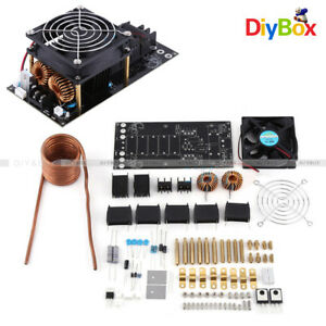 Dc12 36v 1000w 20a Zvs Induction Heating Board Module Heater With Cooling Fan