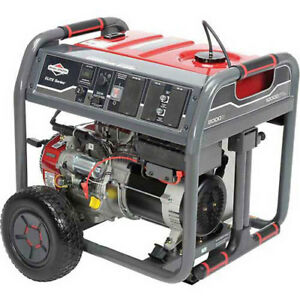 Briggs Stratton Elite Series 8482 Portable Generator 8000w Nec Compliant