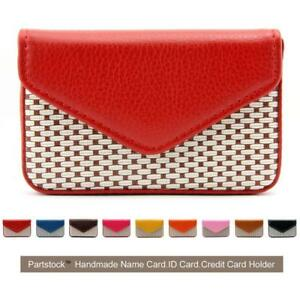 Partstock Multipurpose Pu Leather Business Name Card Holder Wallet Credit