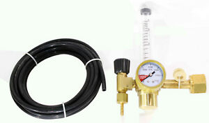 Home Grower Co2 Single Stage Regulator With Flow Meter Cga 320 Inlet