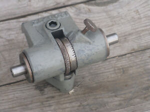 South Bend Lathe Micrometer Carriage Stop For Heavy 10 Or 13 Swing Lathe