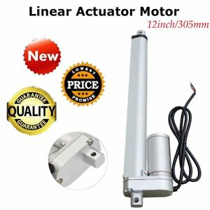 Dc 12v 12 750n Linear Actuator Motor Adjustable Electric Heavy Duty Lifting Bp