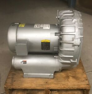 Gast Regenair R7100a 3 Regenerative Blower 3 Phase 355 Cfm 50hz 420 Cfm 60hz
