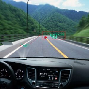 Vehicle Obd Hud Head Up Display Car Speed Water Temperature Mileage Display
