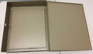 Mier Products Bw 101bp Beige Low Voltage Enclosure With Back Panel Brand New