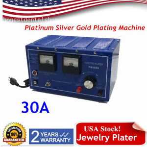30a Platinum Silver Gold Jewelry Plater Electroplating Rectifier Plating Machine