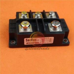 New 3 phase Diode Bridge Rectifier Power 1600v 300a Amp Mds300a