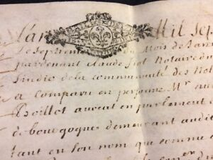 Antique Parchment 1713