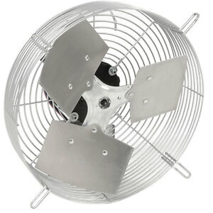 Tpi 10 Guard Mounted Direct Drive Exhaust Fan 1 12hp Lot Of 1