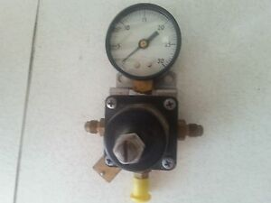 Cornelius Ashcroft 857 a S 100 Compressed Gas Regulator Pressure Gauge
