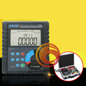 Intelligent Equipotential Tester Etcr3700 Is 30 0 K Low Dc Resistance Tester