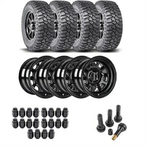 Jegs Performance Products 681010k34 Jeep Wheel And Tire Kit 1987 2006 Wrangler Y